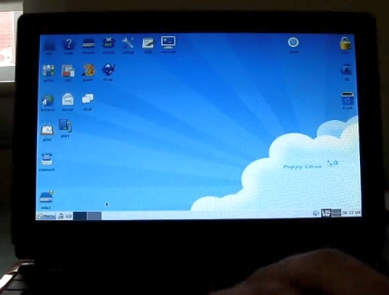 Puppy Linux on the NorhTec Gecko Edubook