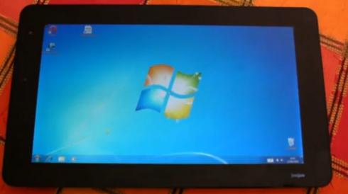 JooJoo Tablet hack: Drop Linux and install Windows 7 - Liliputing