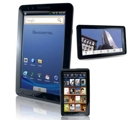 Pandigital tablet
