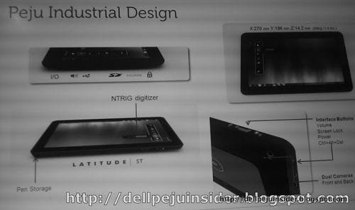 Dell Peju tablet