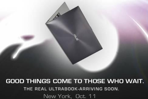 Asus UX ultrabook launch