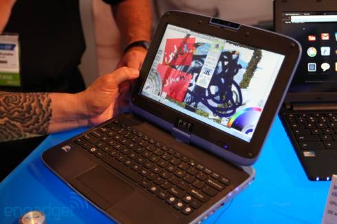 Intel Classmate PC with Cedar Trail