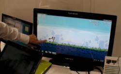 HannsG touch monitor demo