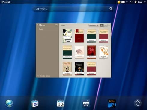 webOS Kindle app