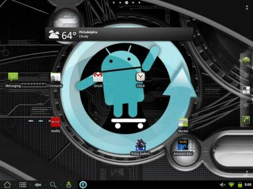 CyanogenMod 7.1 on the HP TouchPad