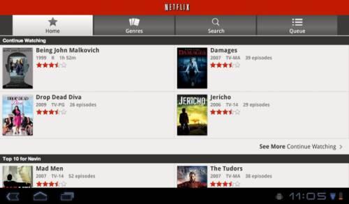Netflix for Honeycomb