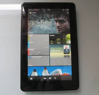 Amazon Kindle with Android Market