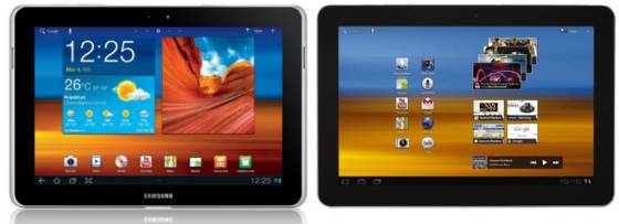 Samsung Galaxy Tab 10.1 and 10.1n