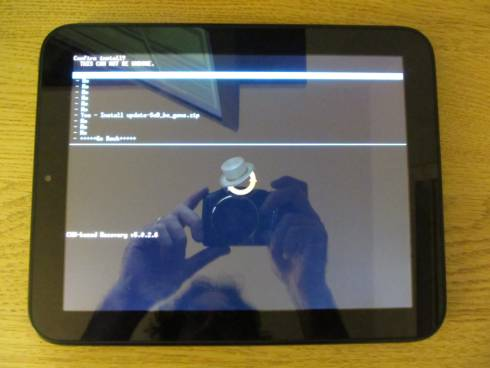 HP TouchPad Android SOD fix