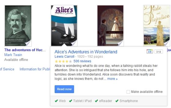 Google Books offline