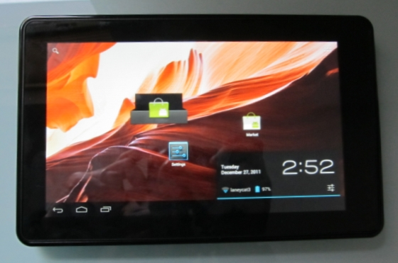 Amazon Kindle Fire with Android 4.0 Ice Cream Sandwich