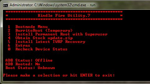 Kindle Fire Utility can now root Kindle OS 6 3, install custom