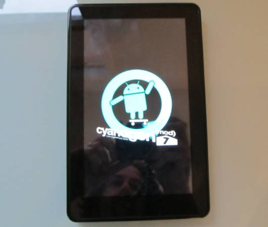 How to install CyanogenMod 7 on the Amazon Kindle Fire
