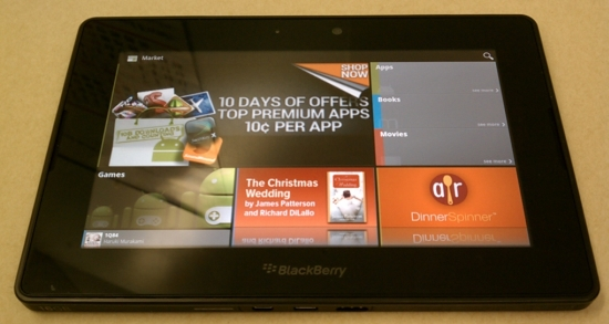 Android launcher blackberry playbook pictures