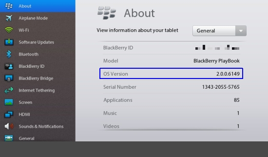 BlackBerry PlayBook OS 2 beta updated, patches DingleBerry