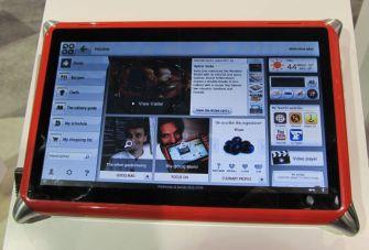QOOQ digital cookbook tablet