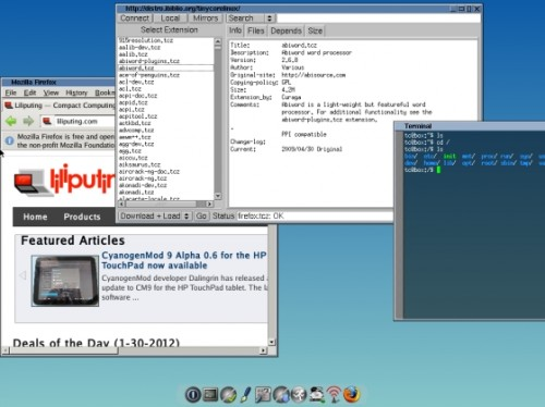 PiCore 5 3 Linux is a 25MB operating system for the Raspberry Pi