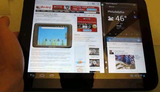 HP TouchPad with Android and Cornerstone
