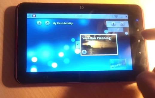 Spark tablet
