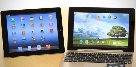 iPad 3 v. Transformer Prime
