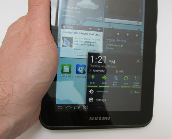 Samsung Galaxy Tab 2 (7 0) review - Liliputing