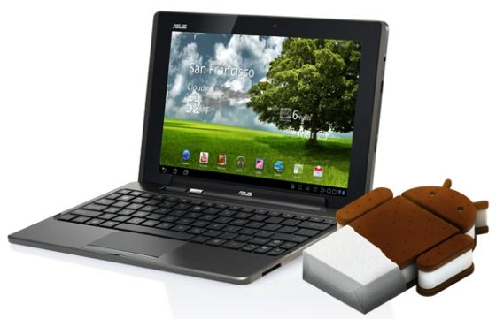 Asus Eee Pad Transformer Android 4.0