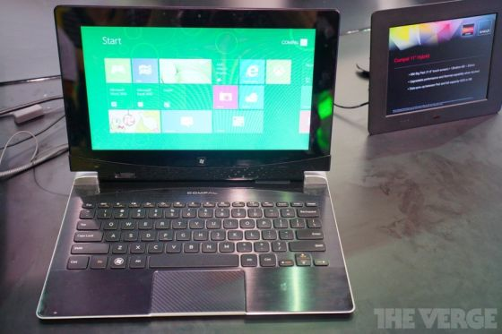AMD Windows 8 Hybrid tablet