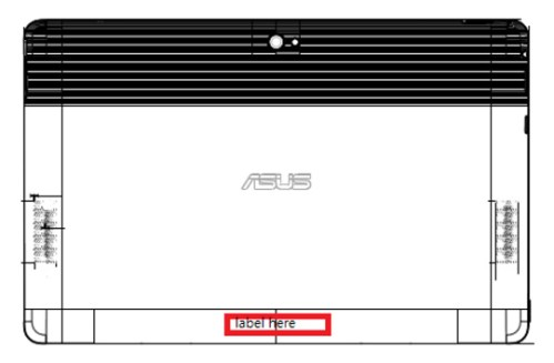 ASUS Tablet 810 FCC