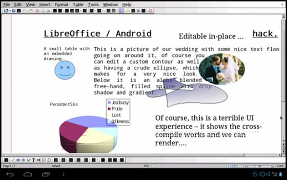 LibreOffice Android prototype
