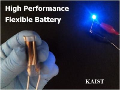 Flexible battery