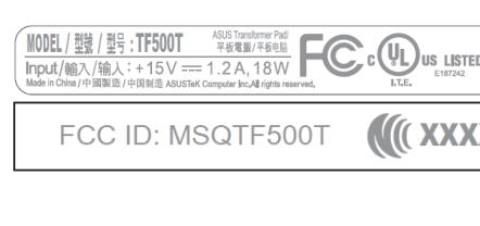 Asus Transformer Pad TF500T