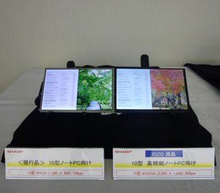 sharp igzo display