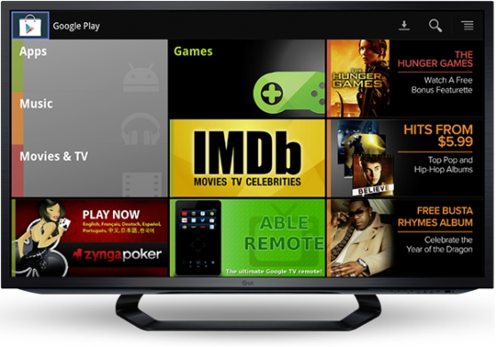 Google TV Play Store