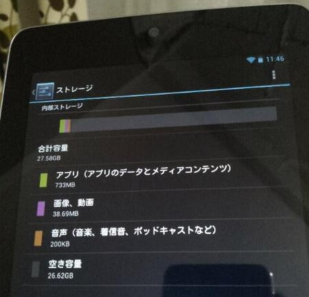 Google Nexus 7 with 32GB