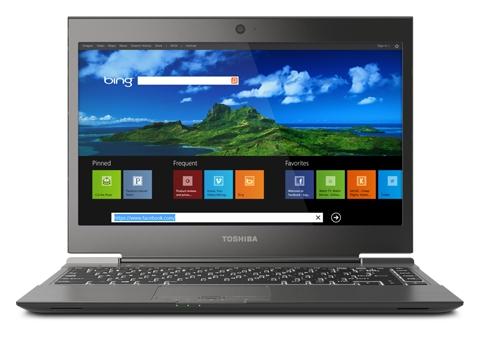 toshiba Portege Z935 with Windows 8