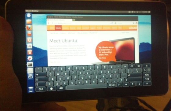 Ubuntu Linux on the Google Nexus 7