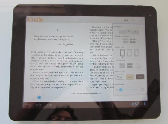 Chuwi V99 tablet review (2048 x 1536 pixel display, Rockchip RK3066