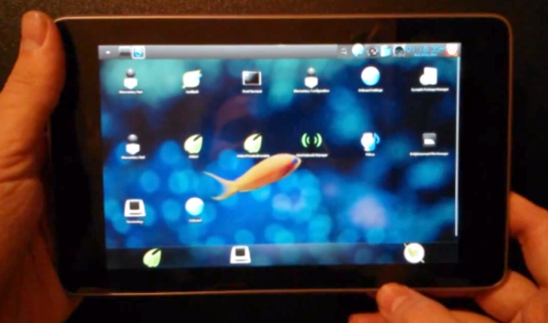 Bodhi Linux on the Google Nexus 7
