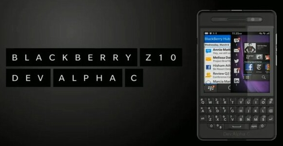BlackBerry Z10 Dev Alpha C