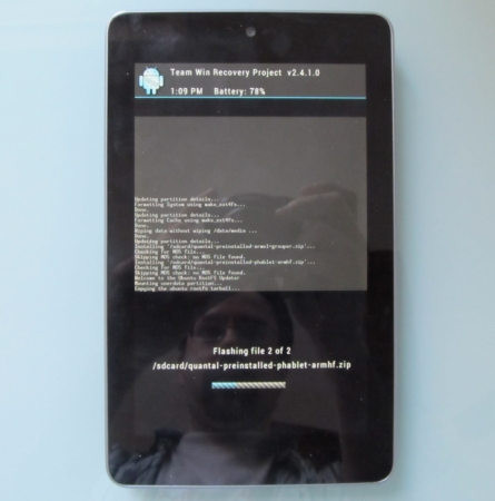 How to install Ubuntu Touch on a Nexus 7 (with Windows, Mac, or