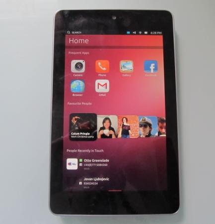Google Nexus 7 with Ubuntu Linux