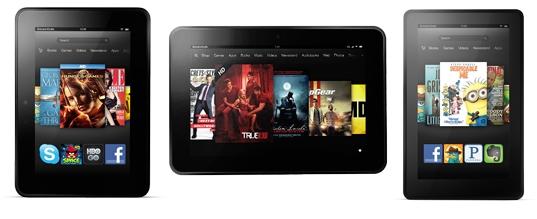 Amazon Kindle Fire family