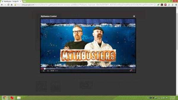 Mythbusters (Google Play)