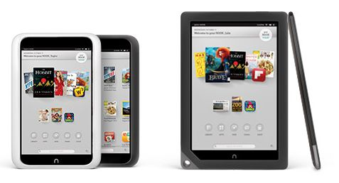 B&N NOOK HD and NOOK HD+