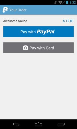 PayPal Android SDK