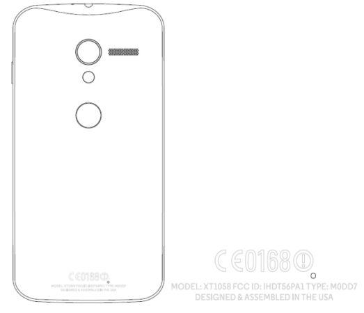 Motorola XT1058