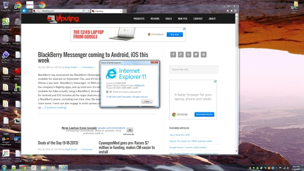 On Day Windows 7 Launched I Installed >> Lilbits 9 18 2013 Internet Explorer 11 Rc For Windows 7 Liliputing