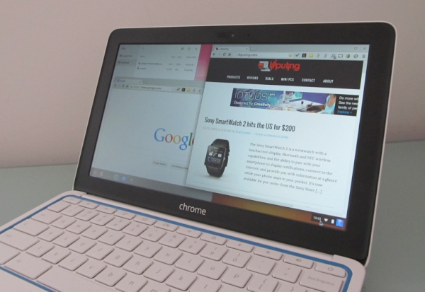hp chromebook 11 multi-window