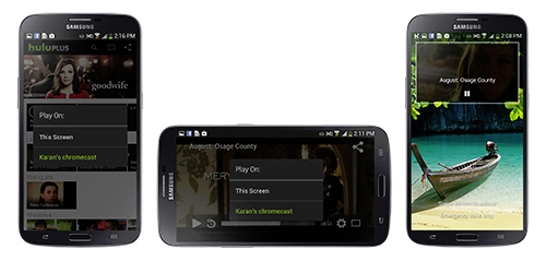 Hulu Plus Chromecast