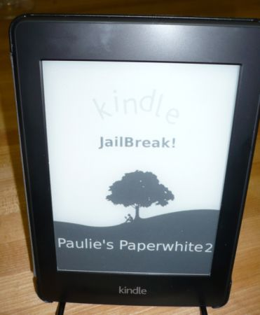 Amazon Kindle Paperwhite 2 jailbroken